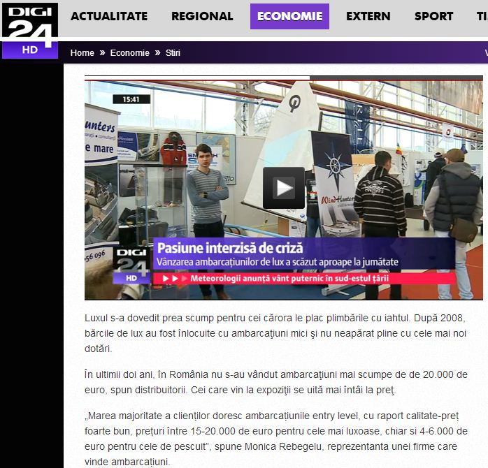 DG 24 Salonul Nautic International Bucuresti 2014