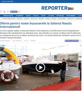 REPORTER NTV_SALONUL NAUTIC INTERNATIONAL BUCURESTI 2015