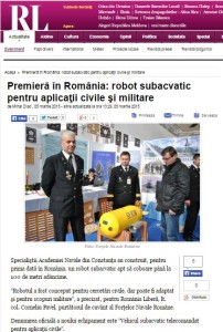 ROMANIA LIBERA_SALONUL NAUTIC INTERNATIONAL BUCURESTI 2015