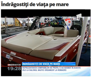Salonul Nautic International Bucuresti 2015-Antena 1