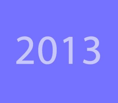 Editia 2013